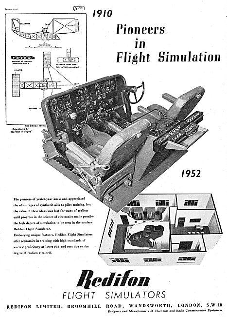 Redifon Flight Simulators
