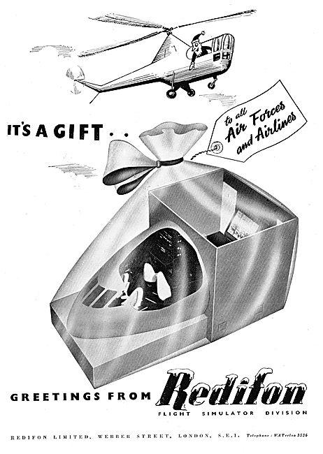 Redifon Flight Simulators - Christmas Greeting