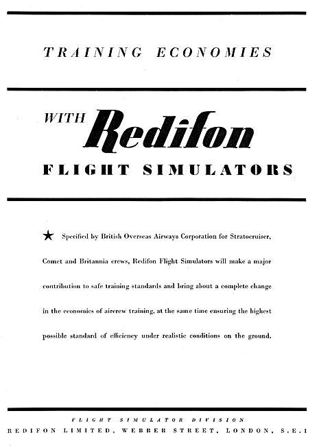 Redifon Flight Simulator : BOAC Stratocruiser
