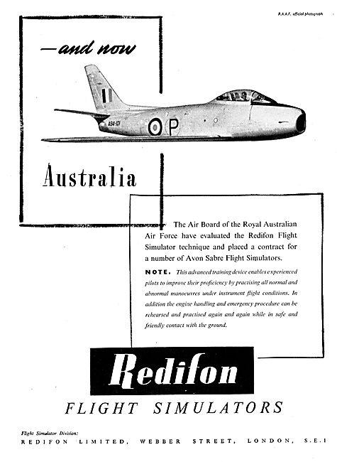 Redifon Flight Simulator : RAAF Sabre