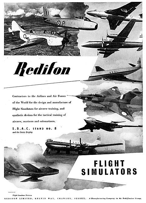 Redifon Flight Simulators For Aircrew & Tactical Training