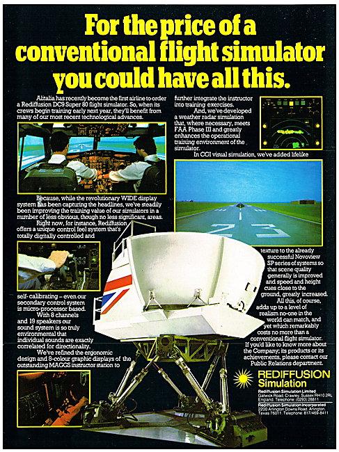 Rediffusion Flight Simulators