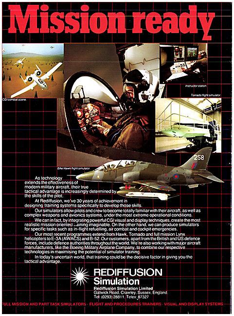 Rediffusion Simulators 1983