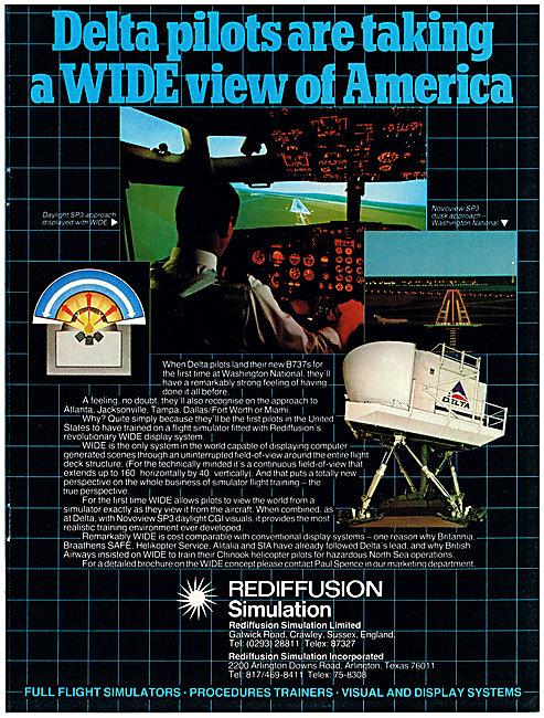 Rediffusion Simulators