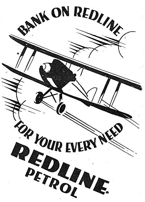 Redline Petrol - Redline Fuel 1930