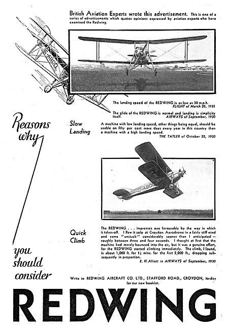 Redwing Aircraft Co Gatwick