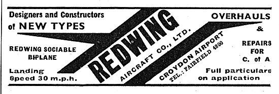 Redwing Aircraft Co Gatwick - Aircraft Design & Construction