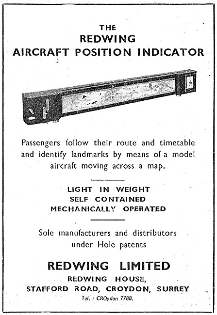 Redwing Aircraft Position Indicator