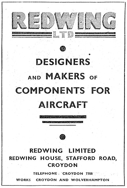 Redwing  Designers & Makers Of Aircraft Components