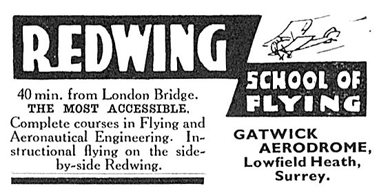 The Redwing School Of Flying Gatwick