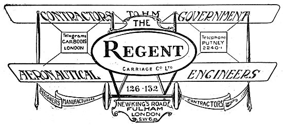 The Regent Carriage Co. Aeronautical Engineers