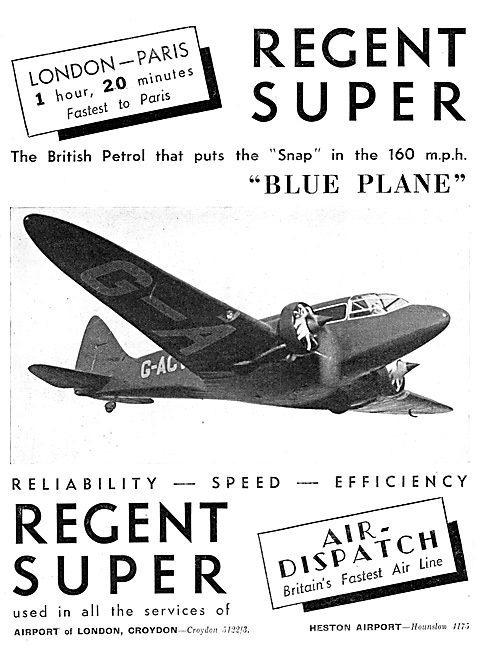 Regent Super Aviation Petrol
