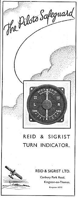 The Reid & Sigrist Turn Indicator