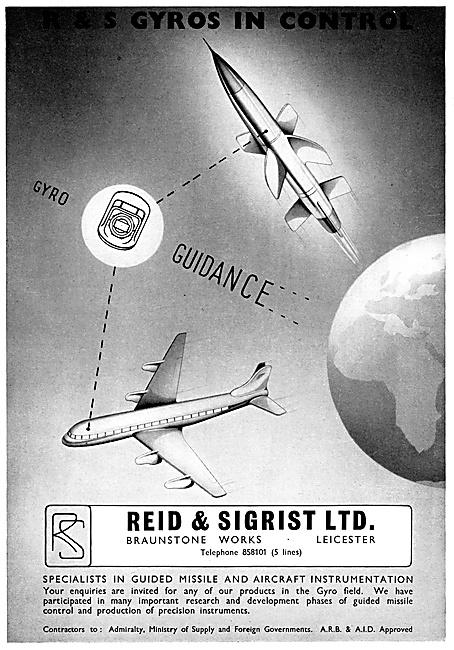 Reid & Sigrist Aircraft Instruments