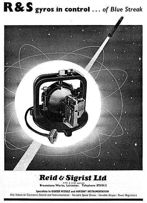 Reid & Sigrist Missile Gyros