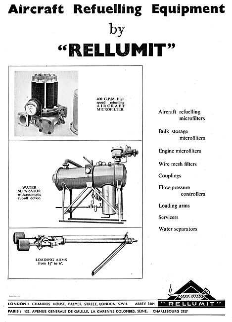 Rellumit 400 GPM High Speed Refuelling Microfilter