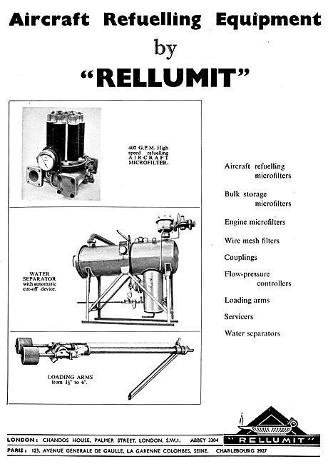 Rellumit Aircraft Refuelling Equipment