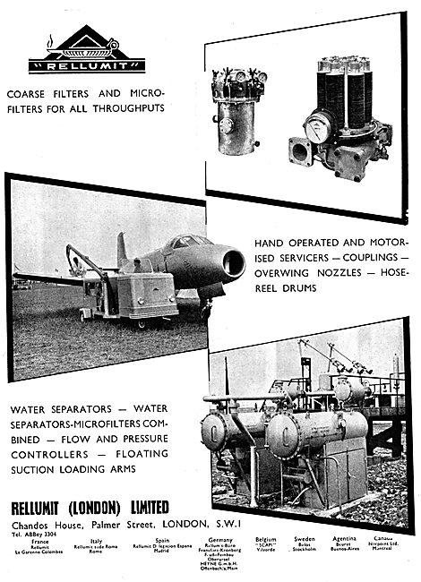 Rellumit Aircraft Refuelling & Servicing Equipment
