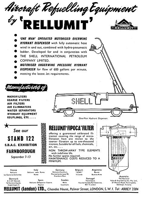 Rellumit Aircraft Re-Fuelling Equipment