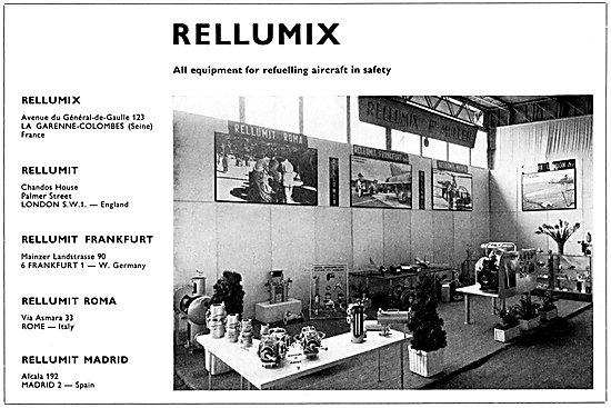 Rellumit Aircraft Re-Fuelling Equipment - Rellumix
