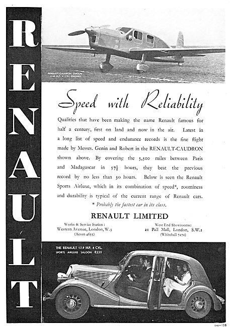 Renault  Caudron Simoun