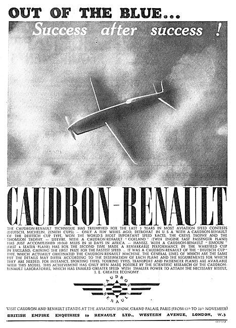 Caudron Renault Aircraft
