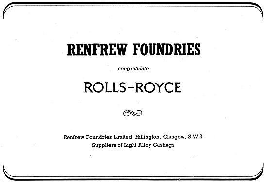 Renfrew Foundries - Light Alloy Castings