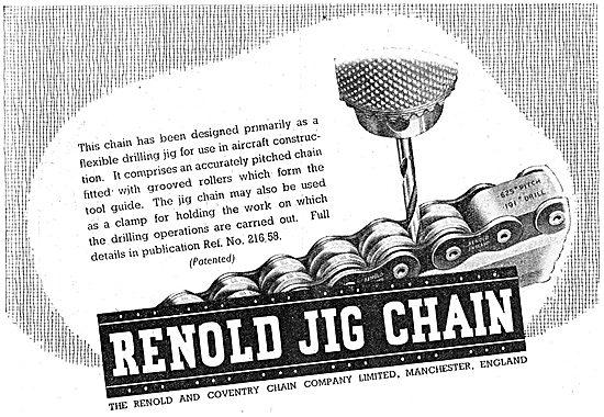 Renold Jig Chains - 1941