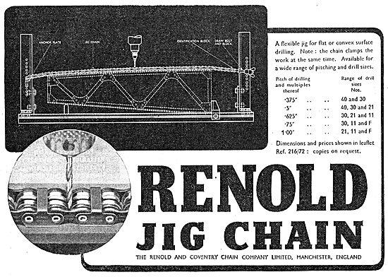 Renold Jig Chains 1942 Advert