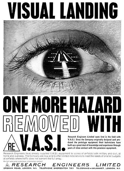 Research Engineers : VASI Visual Approach Slope Indicators