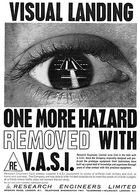 Research Engineers. V.A.S.I. Manufacture & Installation