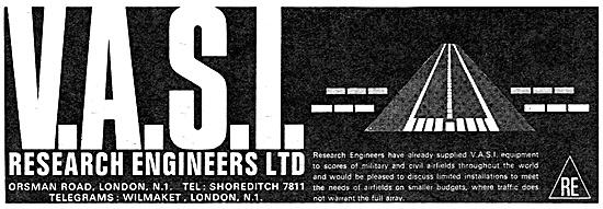 Research Engineers VASI Visual Approach Slope Indicators