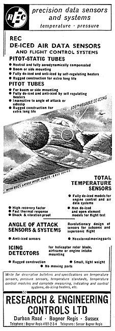 Research & Engineering Controls. Aircraft Sensors & Detectors
