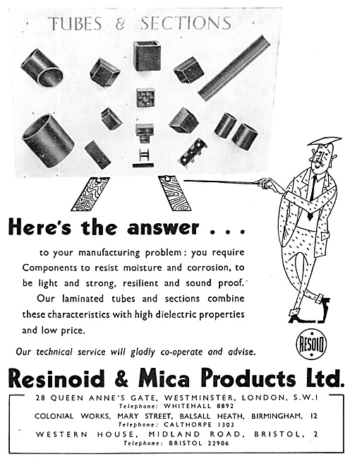 Resinoid & Mica Product. Plastic Components