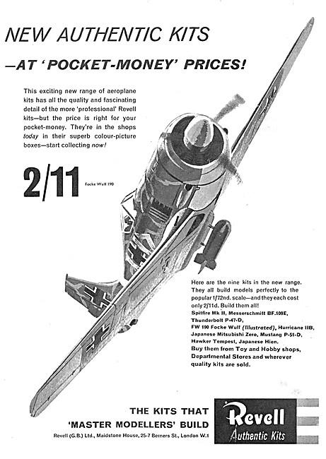 Revell Messerschmitt BF.109E Kit