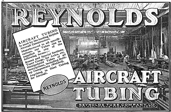 Reynolds Aircraft Tubing