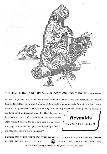 Reynolds Aluminium Alloy Tubes, Extrusions, Sheet & Strip