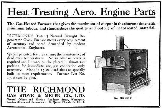 Richmond Gas Stove & Meter Co - Heat Treatment Furnaces