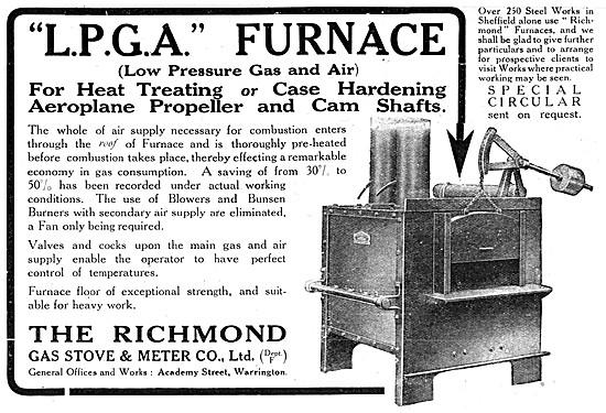 Richmond Gas Stove & Meter - LPGA Heat Treatment Furnaces