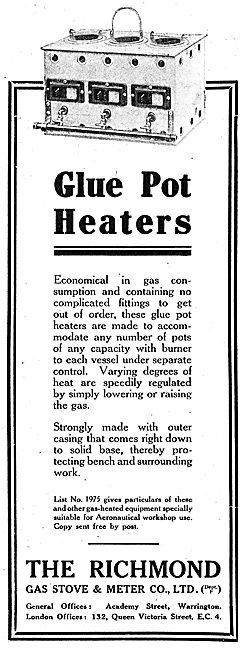 Richmond Gas Stove & Meter Co - Glue Pot Heaters