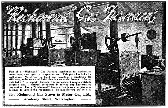 Richmond Gas Stove & Meter Co - Richmond Industrial Gas Furnaces