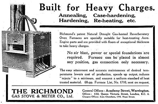 Richmond Gas Stove & Meter Co - Richmond  Heat Treatment Furnace