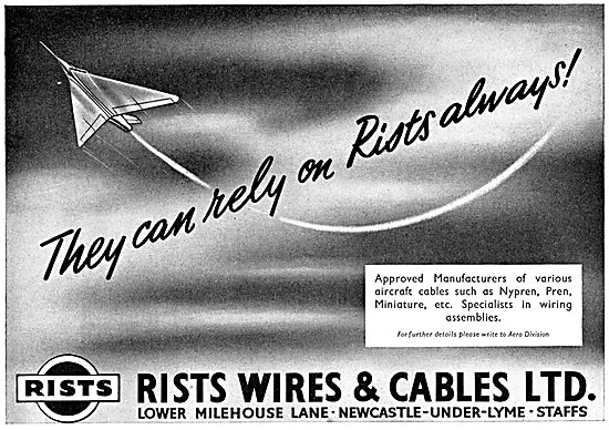 Rists Aircraft Wires & Cables - Wiring Assemblies