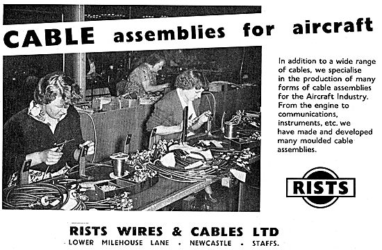 Rists Wire & Cable Assemblies For Aircraft
