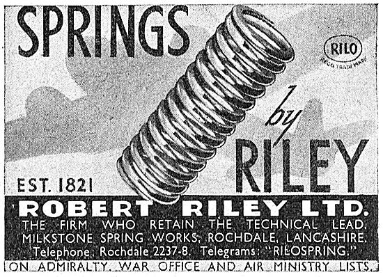 Robert Riley Aircraft Springs