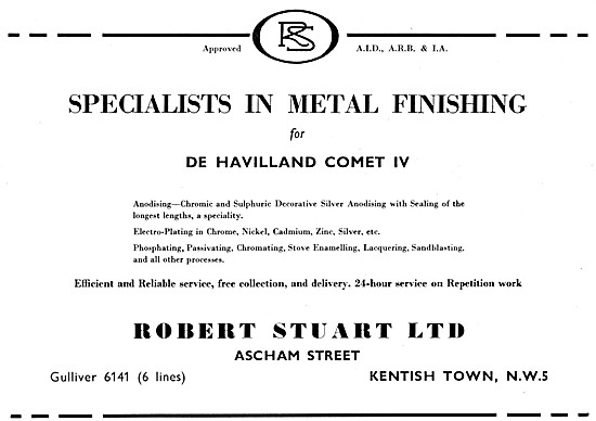 Robert Stuart  - Sheet Metal Finishing