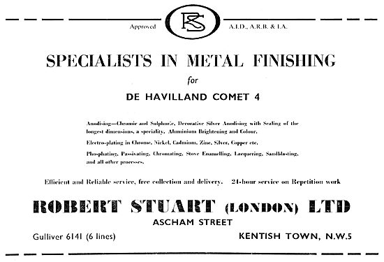 Robert Stuart  - Sheet Metal Finishing For The Aircraft Industry