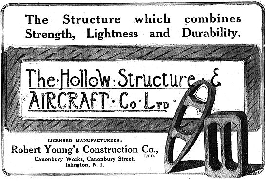 The Hollow Structure Aircraft Co Ltd - Robert Young's