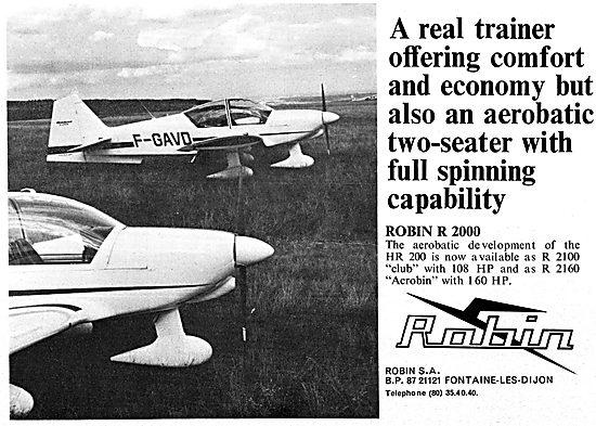 Robin R 2000 - Aerobin HR 200