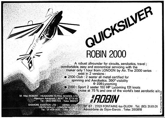 Robin 2000 Quicksilver
